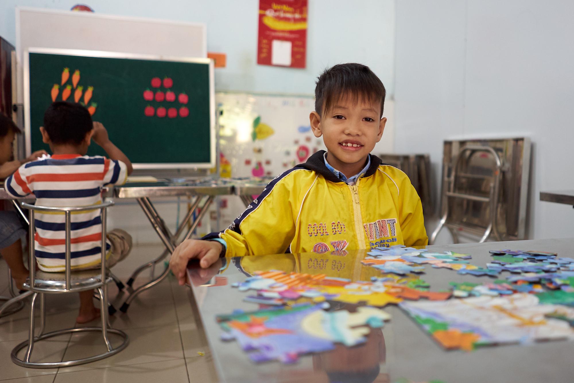 Ecole pour enfants handicapés