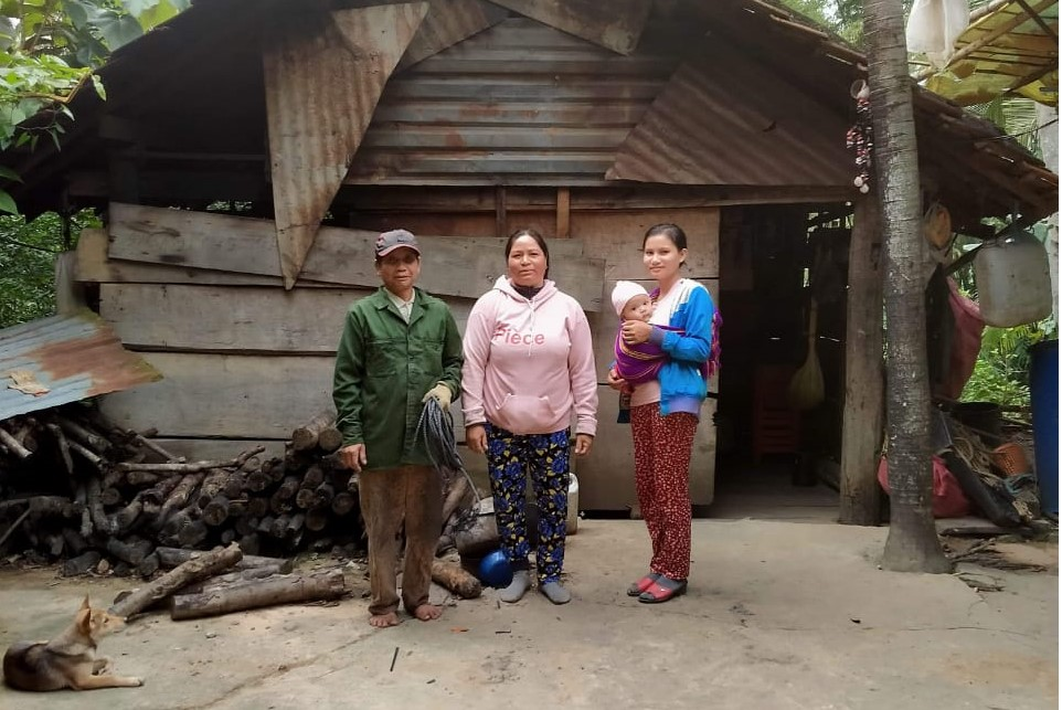 La famille de Trang