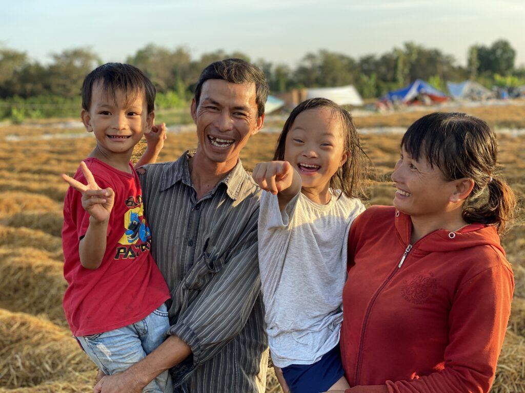 Diem et sa famille